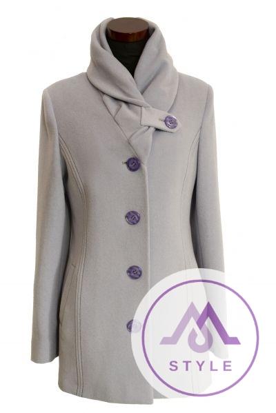 Krátky dámsky vlnený kabát Jarka 9c2edee6bb9