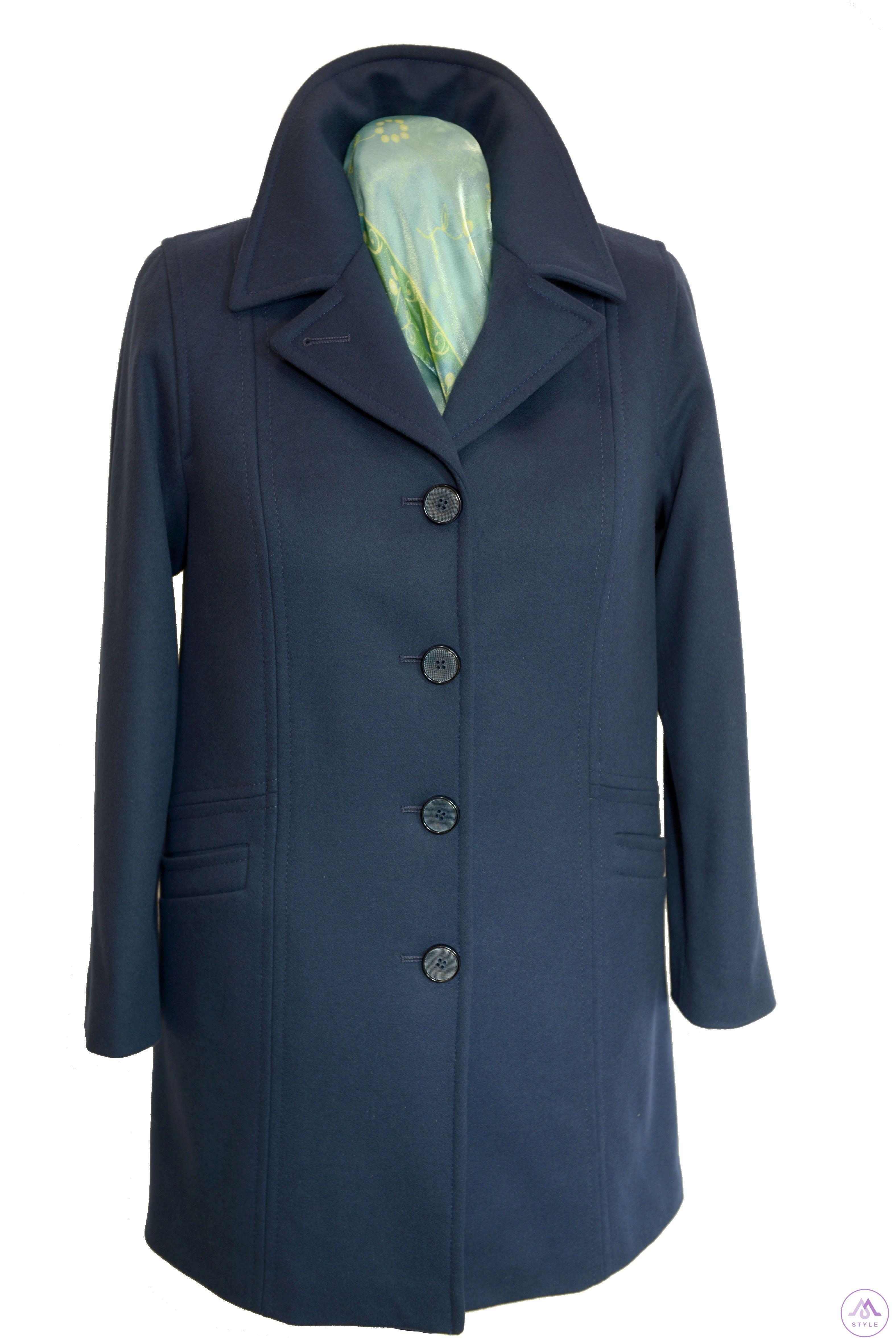 Prechodný dámsky kabát Betka - kabátyžilina 1ab4f414dc6
