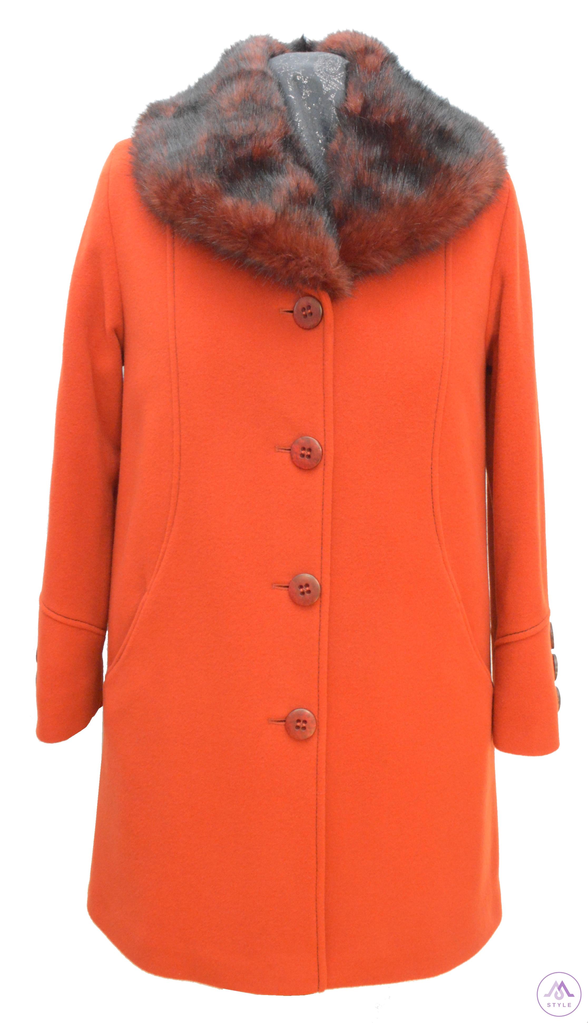 245ae064e Trojštvrťový dámsky vlnený kabát Betka - kabátyžilina