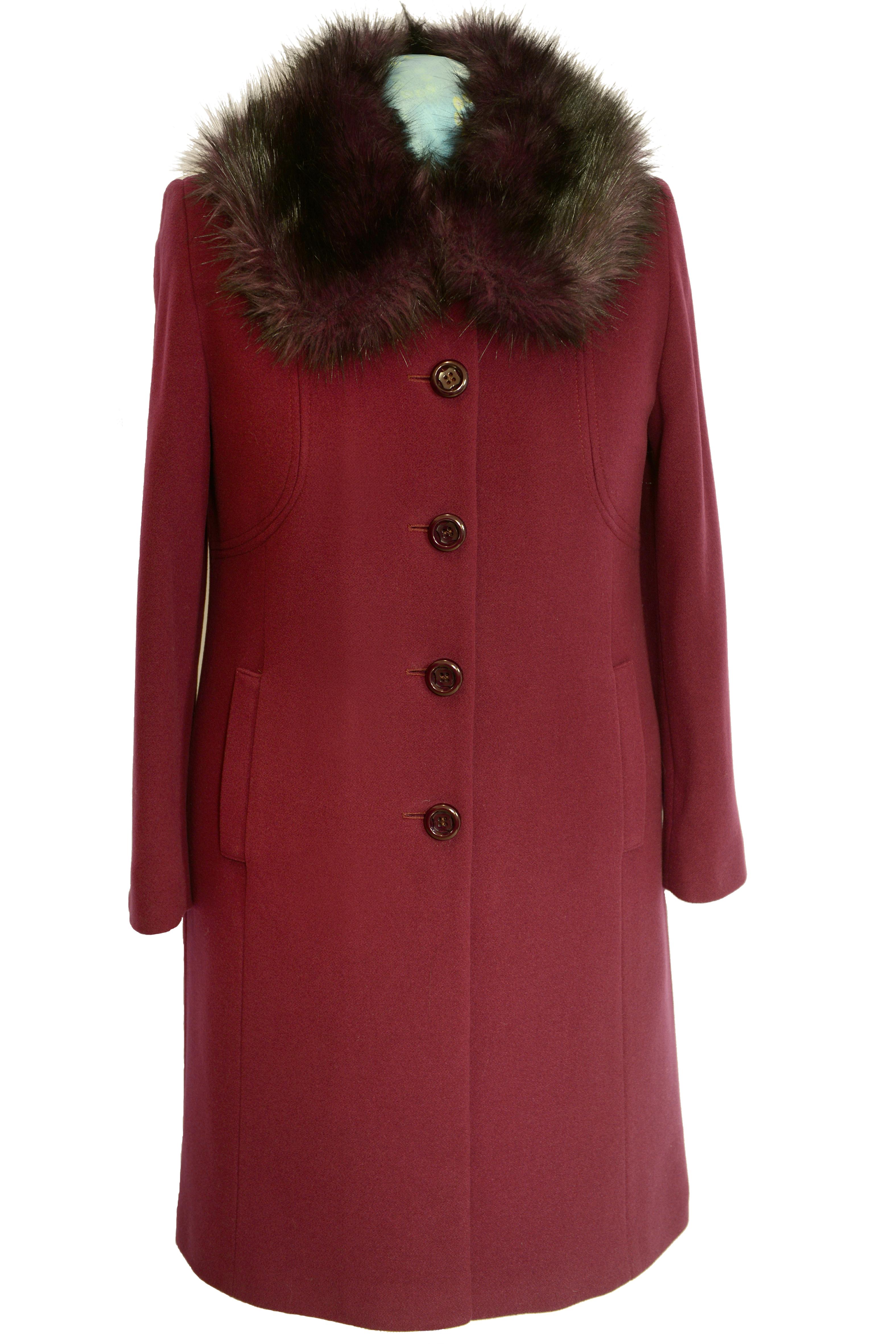 5f07f8811 Trojštvrťový dámsky vlnený kabát Hanka - kabátyžilina