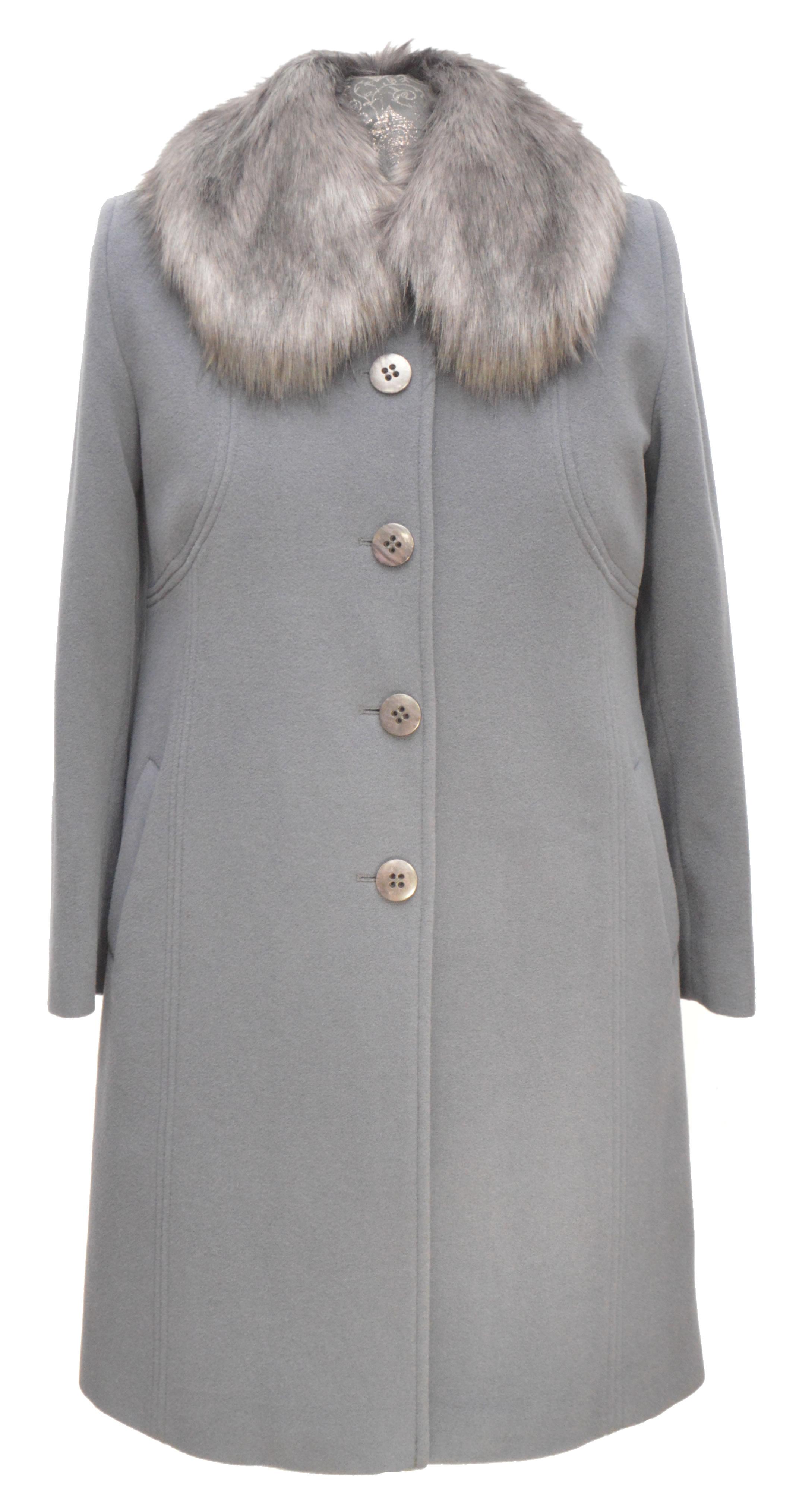 8dbe3787be4d Trojštvrťový dámsky vlnený kabát Hanka - kabátyžilina