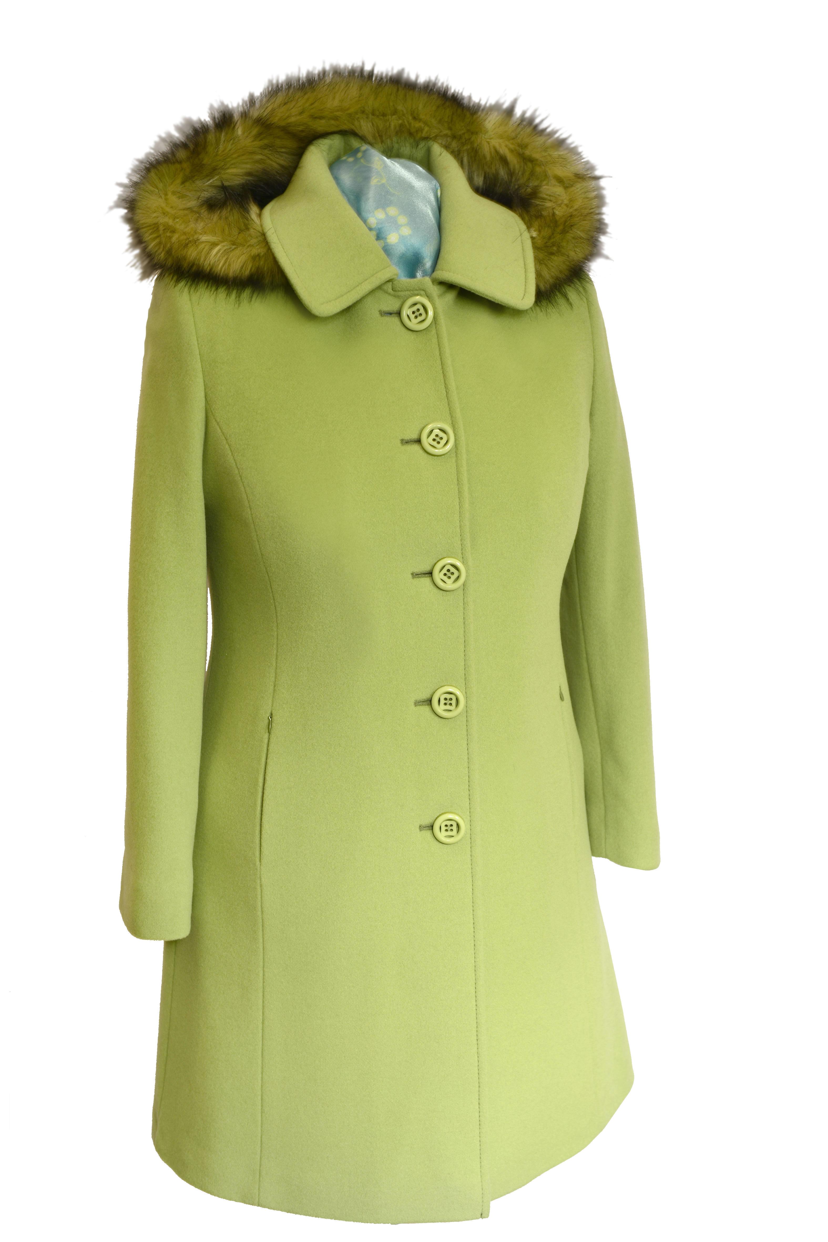 Trojštvrťový dámsky vlnený kabát Janka - kabátyžilina 7c95cdc5cde
