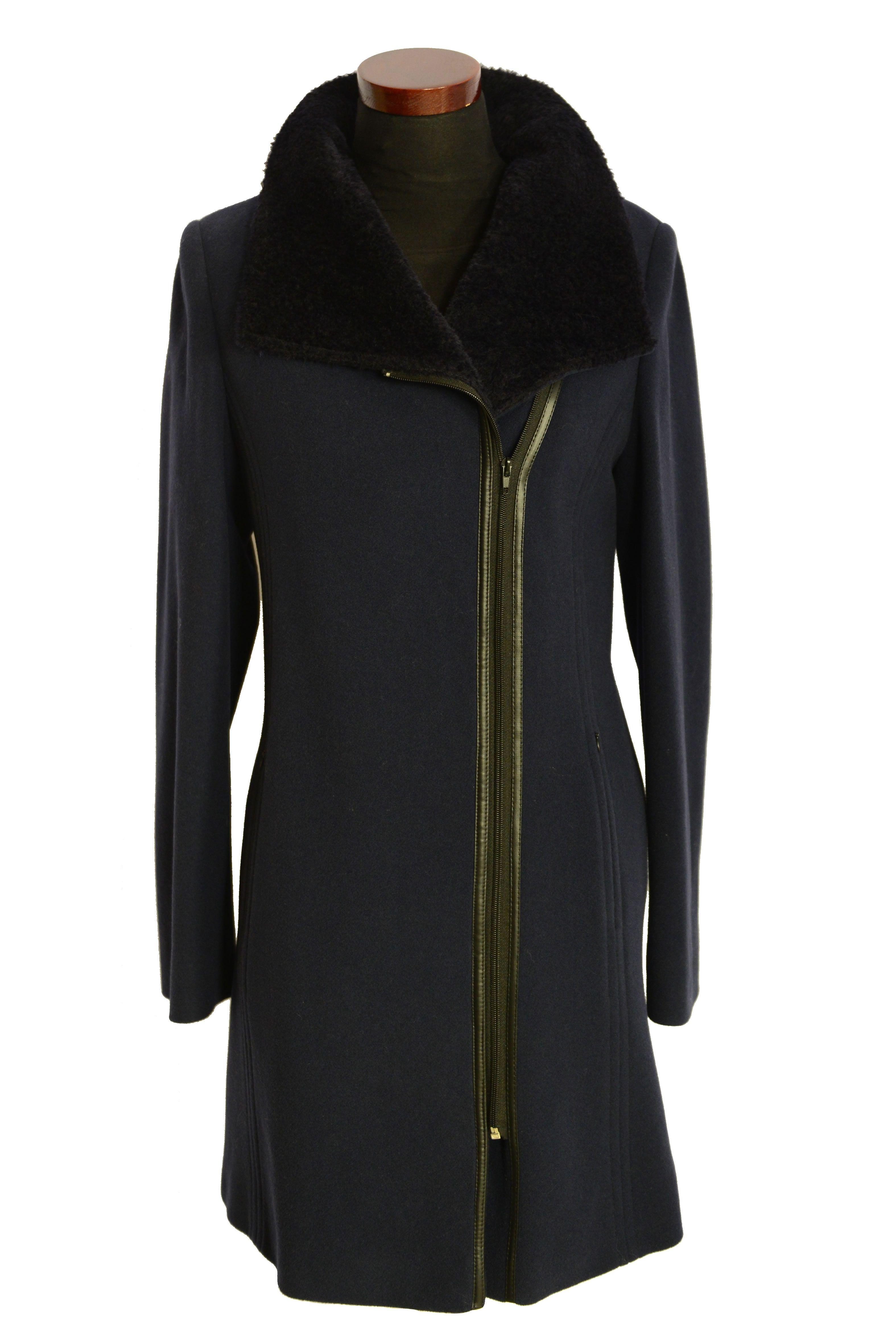 Trojštvrťový dámsky vlnený kabát Jen - kabátyžilina 60bdfa9ba88