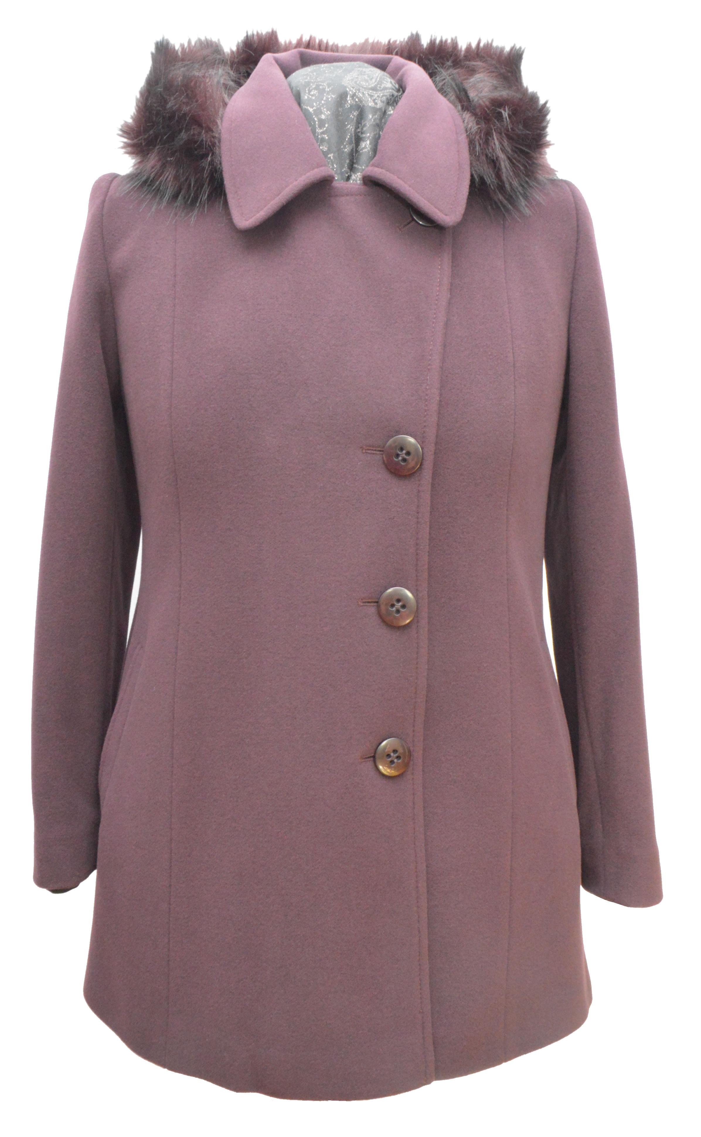Dámsky krátky vlnený kabát Milka - kabátyžilina 9cbdcd5affb