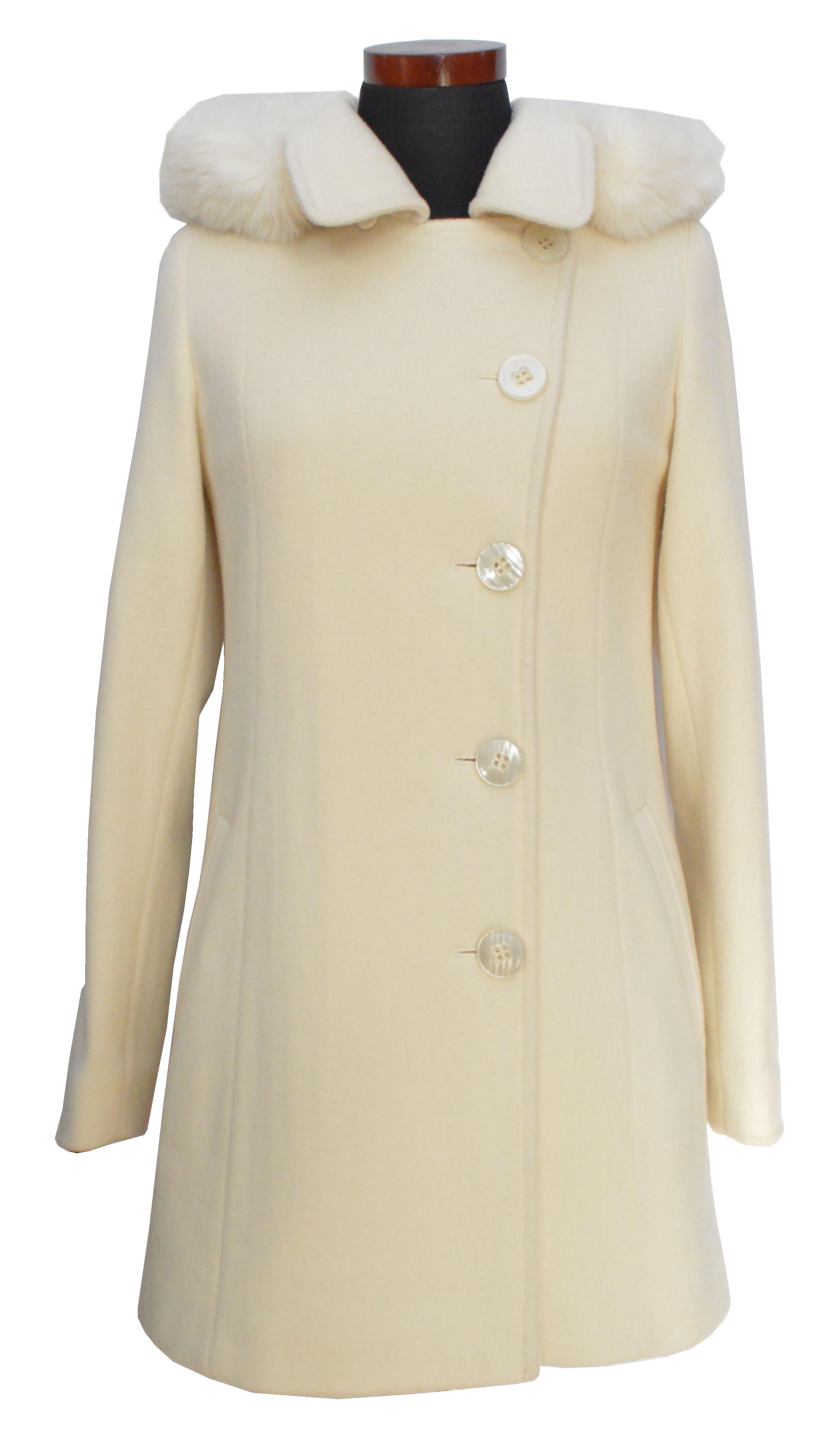27069695ebc9 Krátky dámsky vlnený kabát Milka - kabátyžilina