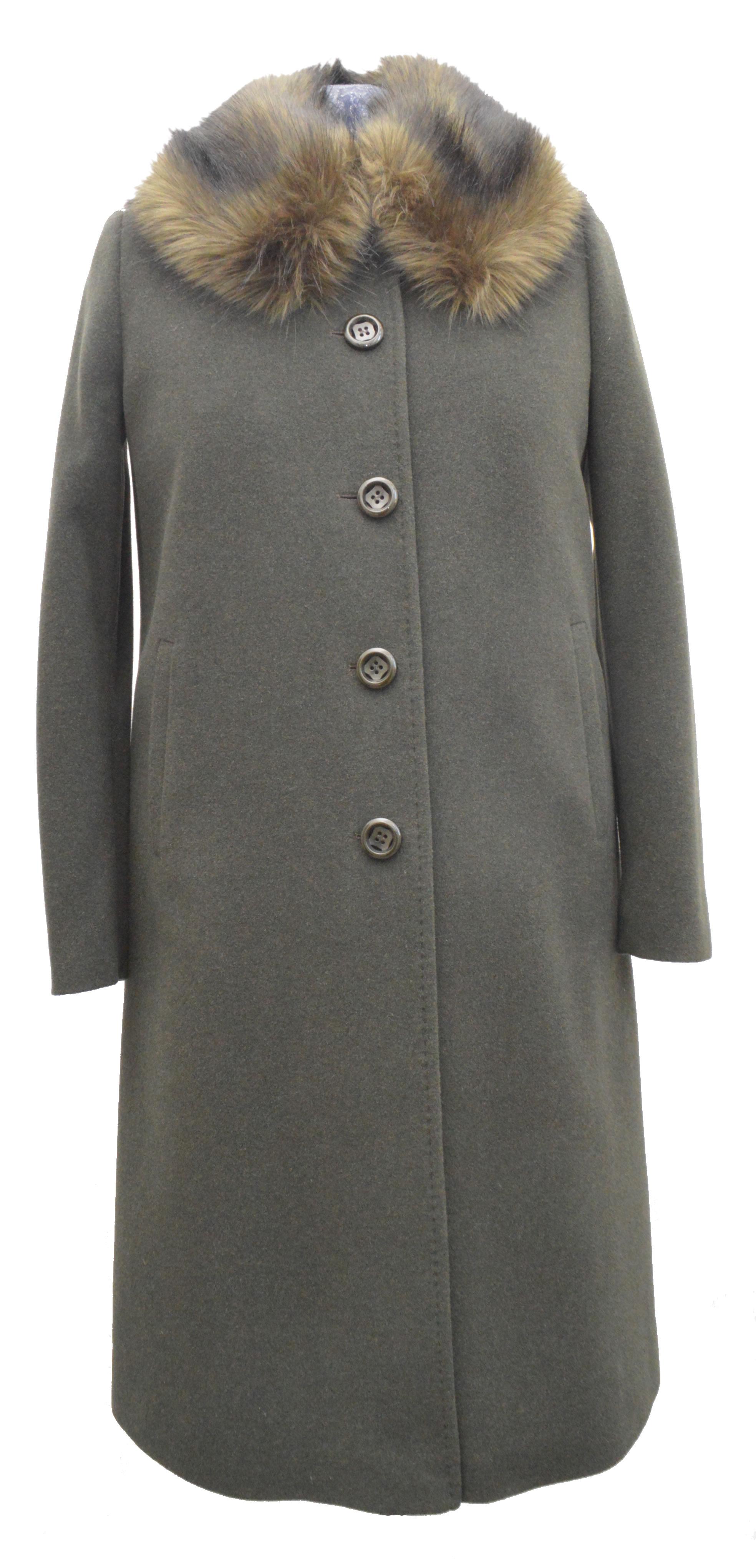 0b147d473 Trojštvrťový dámsky vlnený kabát Samanta - kabátyžilina